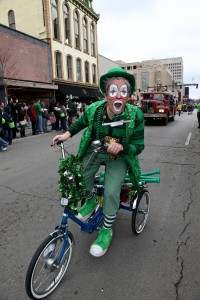 All Green for the St. Patricks Day Parade in Lexington